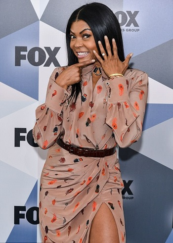 Taraji P Henson Flashes Engagement Ring - Image ~ Naijabang
