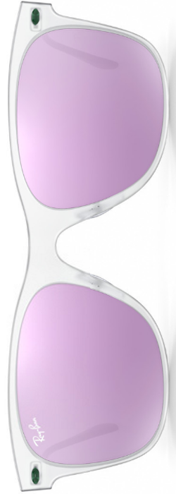 Ray-Ban Wayfarer Light Ray Lilac Mirrored
