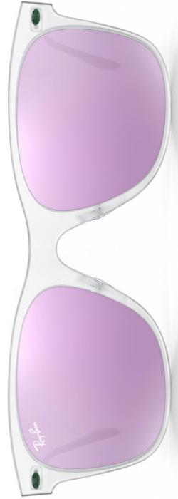 Ray-Ban Wayfarer Light Ray Lilac Mirrored
