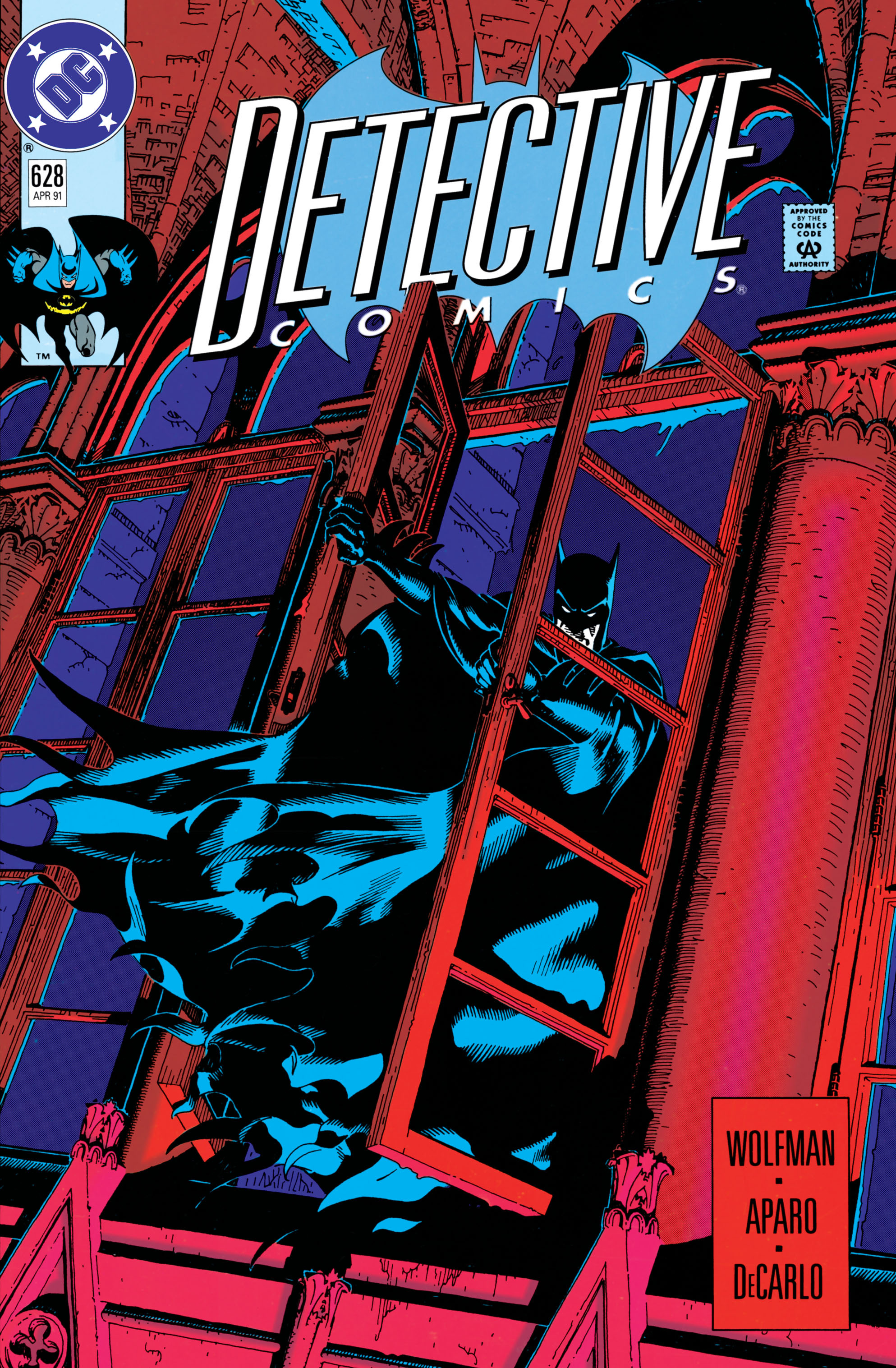 Detective Comics (1937) 628 Page 0
