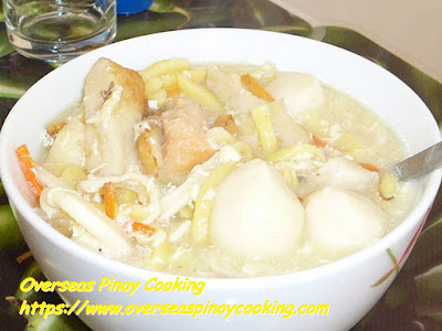 Seafood Lomi Recipe