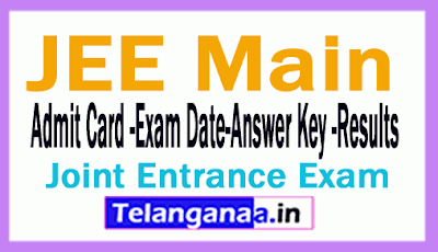 JEE Main 2019 Counselling Download