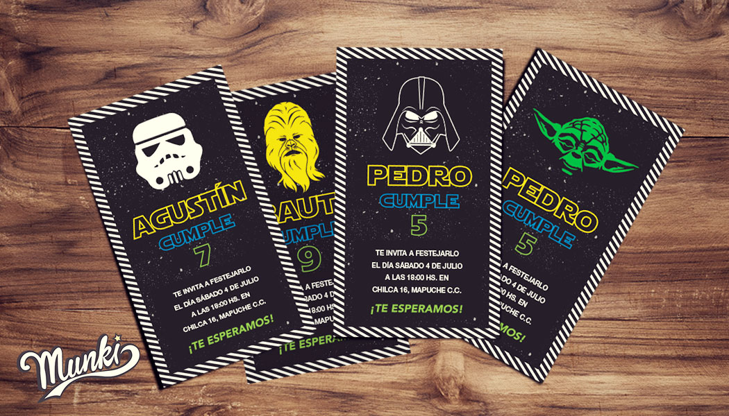 Kit Imprimible Star Wars