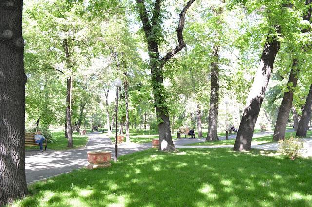 Almatı yeşil bir şehir