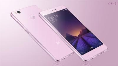 Xiaomi Mi4s màu hồng nữ tính