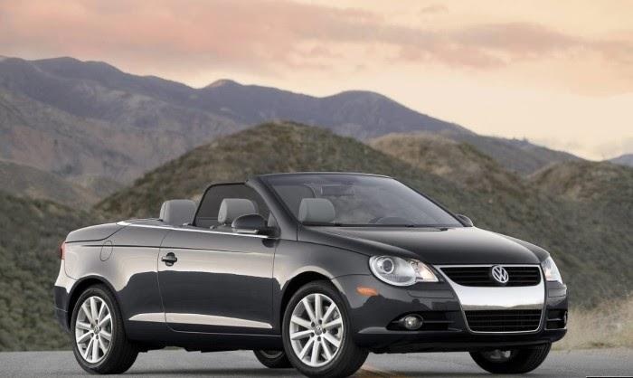 Black Volkswagen Eos Open Roof Car Wallpaper Sport Car Pictures