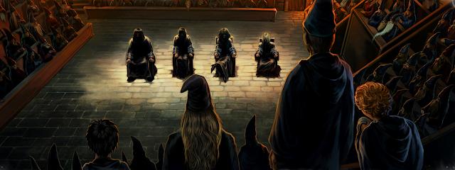 Магьоснически трибунал от Хари Потър и огненият бокал