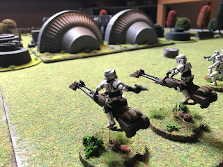Imperial Scout Bikes arrive on the battlefield