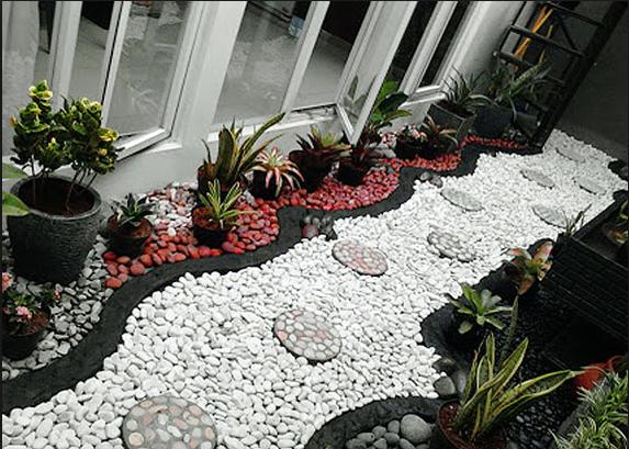 Ide Kreatif Menggunakan Batu Koral Untuk Rumah Minimalis