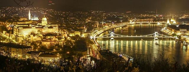 O que fazer a noite em Budapeste, Hungria