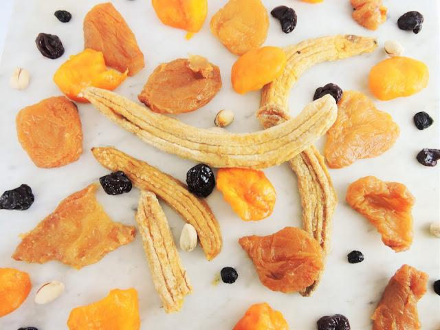 Mendiants aux fruits secs réhydratés Delhaize