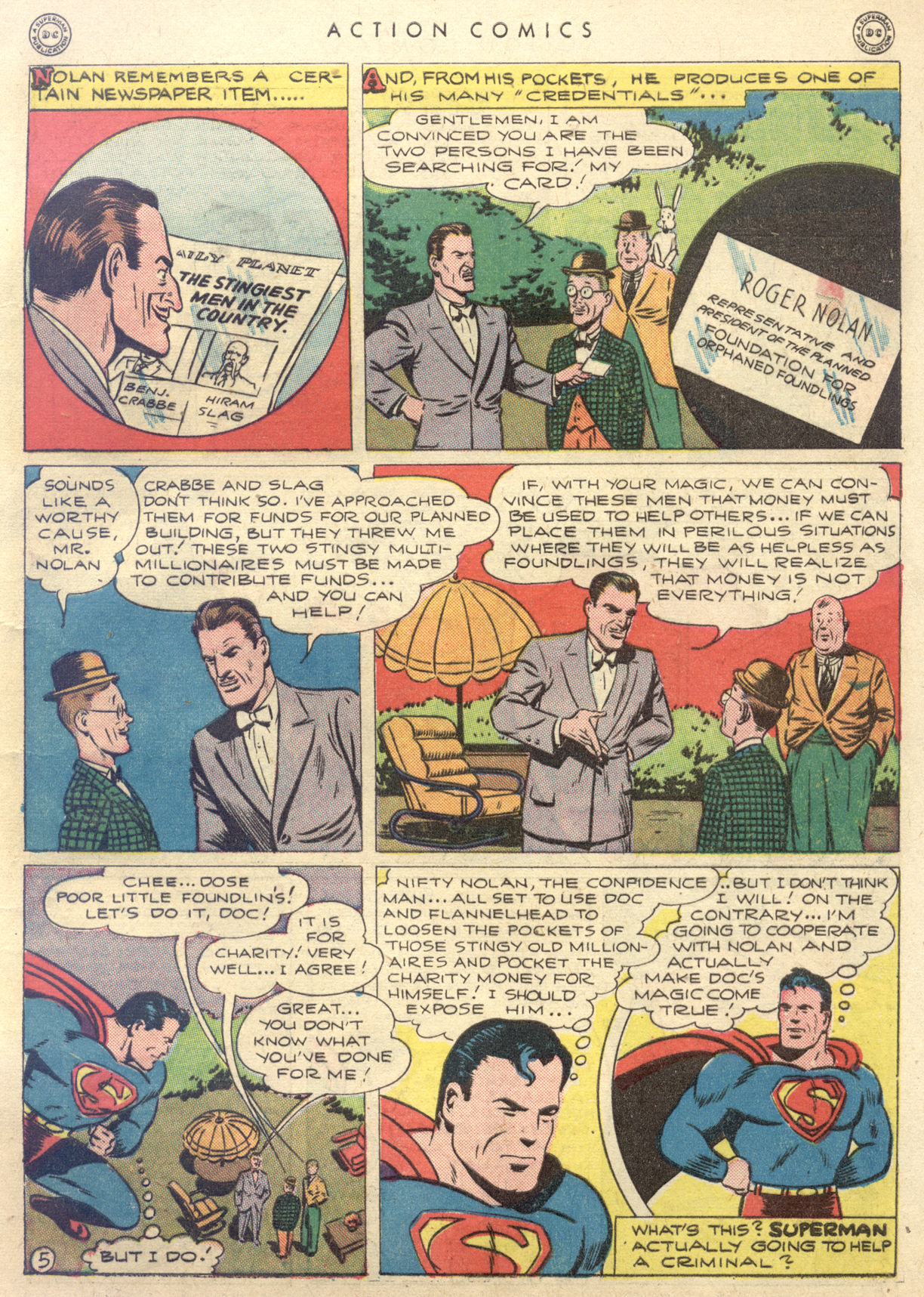 Read online Action Comics (1938) comic -  Issue #88 - 7