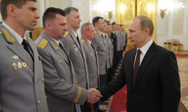Putin and his Generals
