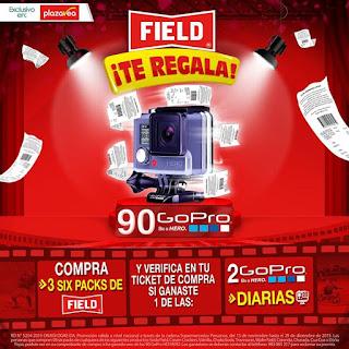 Participa y gana una de las 90 cámaras GoPro - FIELD
