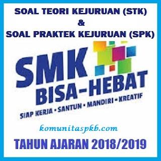 Soal Praktek Kejuruan (SPK) Akuntansi dan Keuangan SMK MAK Tahun 2018/2019