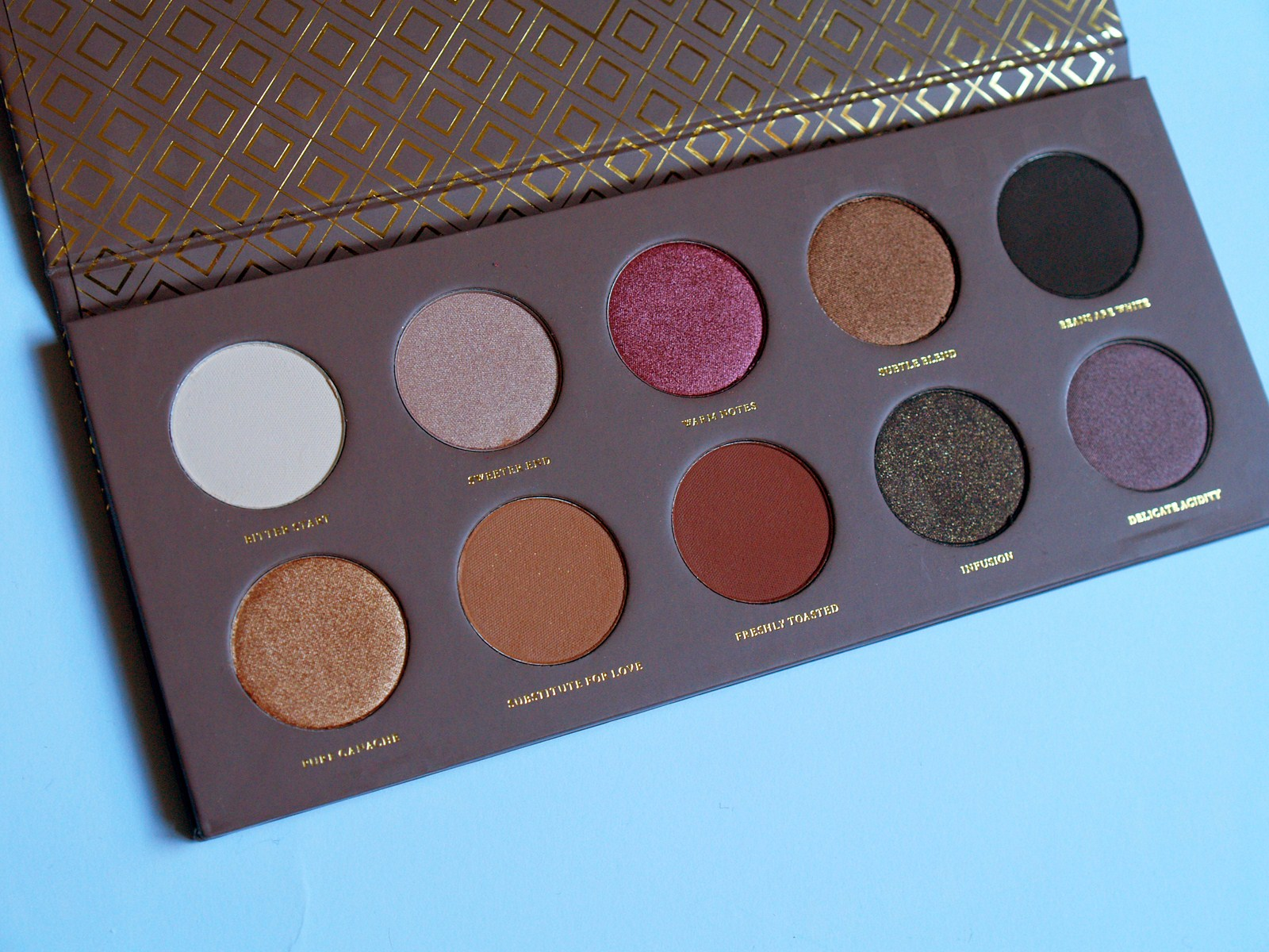 Zoeva cocoa blend palette the red queen - Divan exterieur palette ...