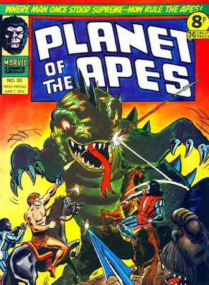 Marvel UK, Planet of the Apes #33
