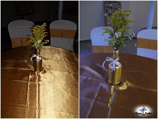 Dicas de decoração para Bodas de ouro
