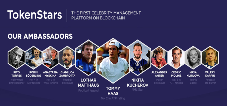 TokenStars Team - Built For Community, Celebrity, and Advertiser