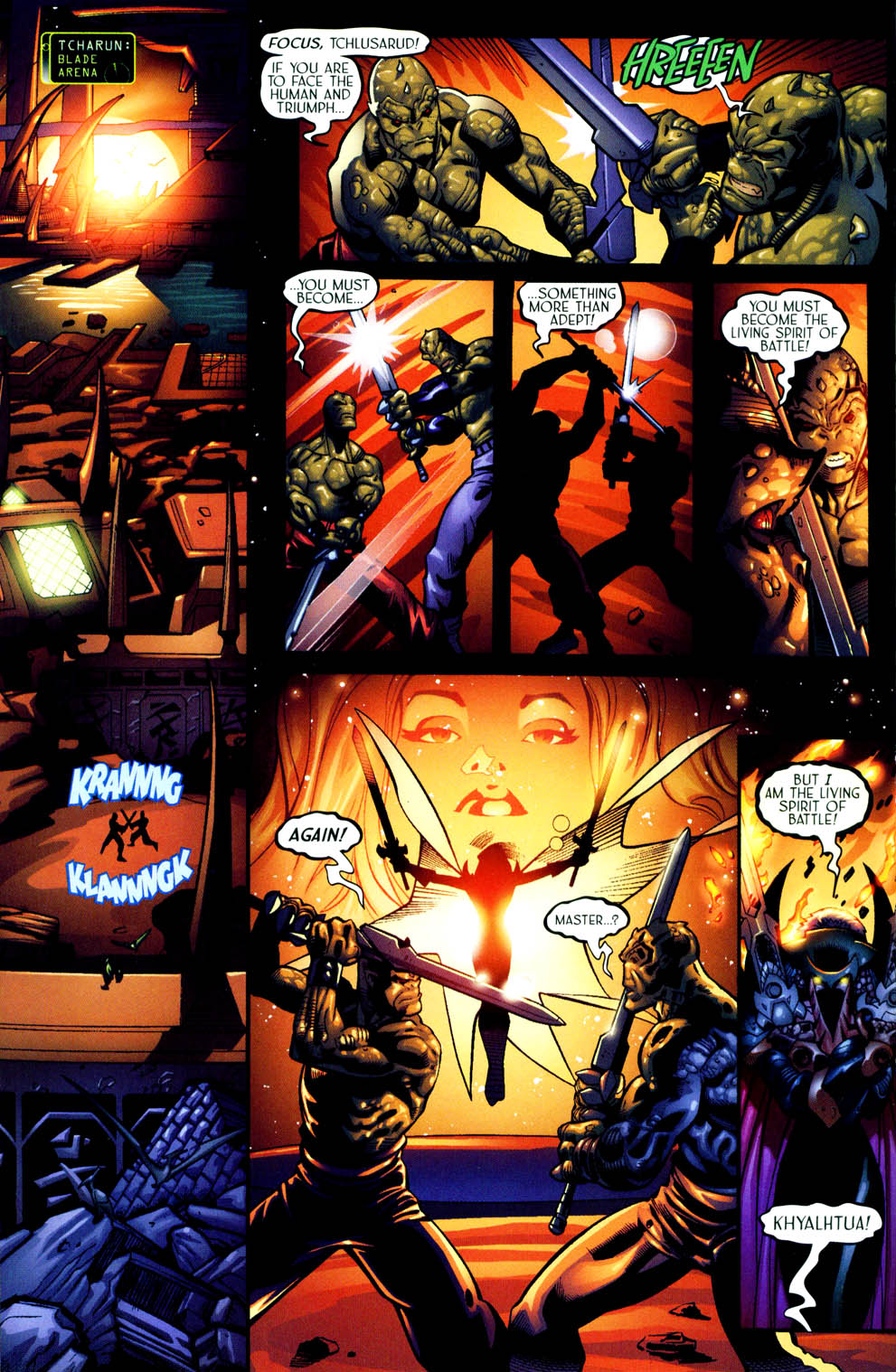 Read online Sigil (2000) comic -  Issue #11 - 11