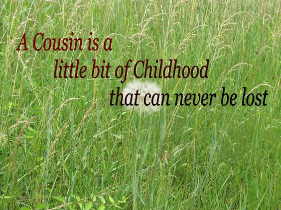 proud cousin quotes