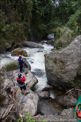 Looking for an exit in the Rio Naranjos, Joel Fedak, Jared Page, Chris Baer, Colombia