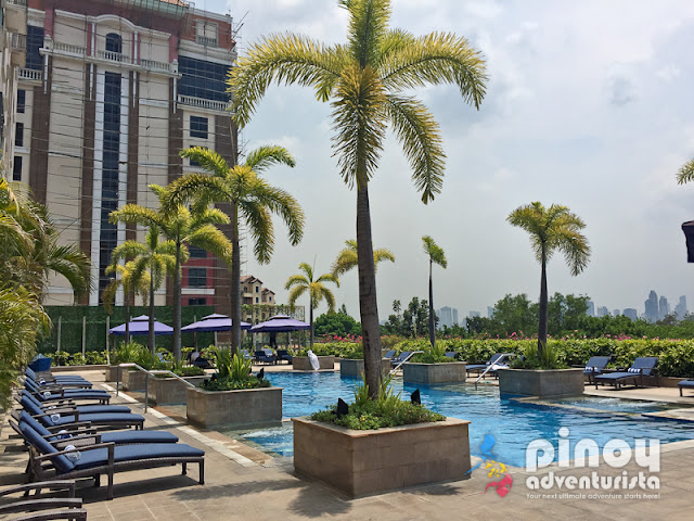 awesome roof deck pools in hotels in metro manila