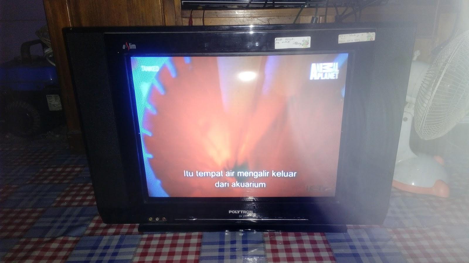 Diandra Elektronik  Tv Polytron U Slim Ps 52uv03 Lampu Led