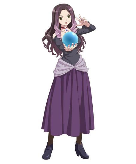 "Miyuki Sawashiro será la voz de Anematsuri Annete Hitomi, la ""señora del centro comercial""."