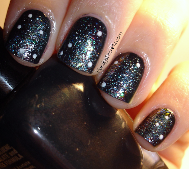 ongles galaxie galaxy nails nailart ongles