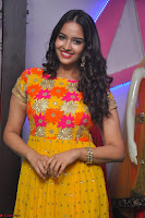 Pujitha in Yellow Ethnic Salawr Suit Stunning Beauty Darshakudu Movie actress Pujitha at a saree store Launch ~ Celebrities Galleries 013.jpg