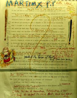 Manuscrito de 'Incidentes em Antares' - Érico Veríssimo