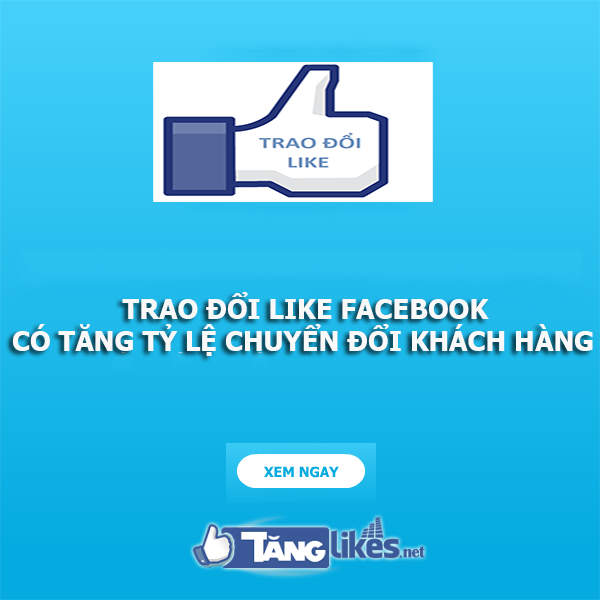 trao doi like facebook