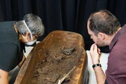 Mumi Misterius 2500 Tahun Ini Baru Ditemukan di Laboratorium Universitas Sydney