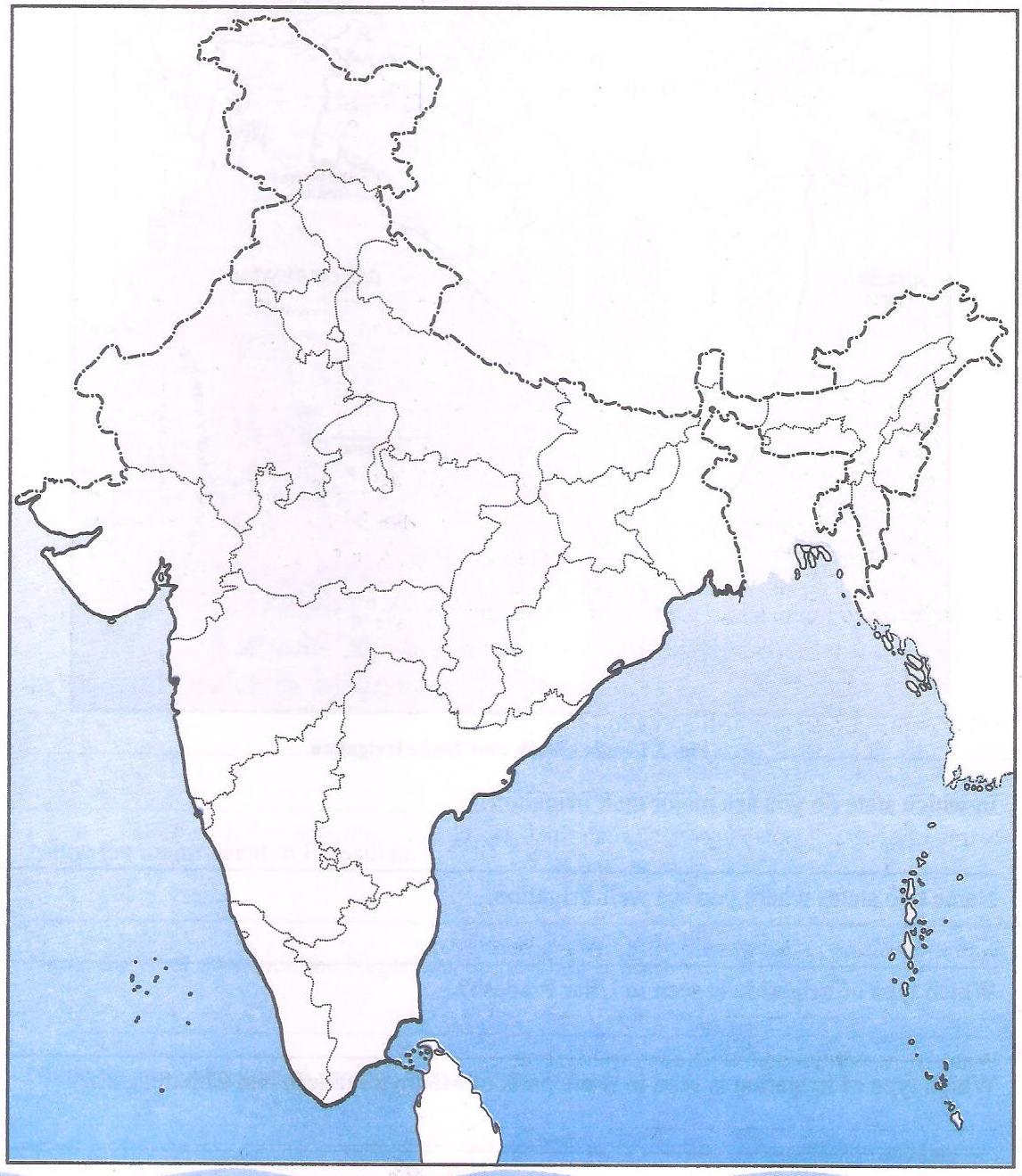india river map outline pdf