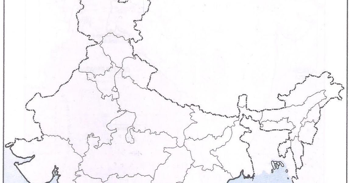 OMTEX CLASSES MAHARASHTRA : On the outline map of India