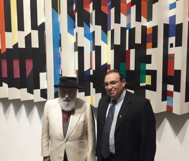 The opening of Agam Museum in Rishon LeZion