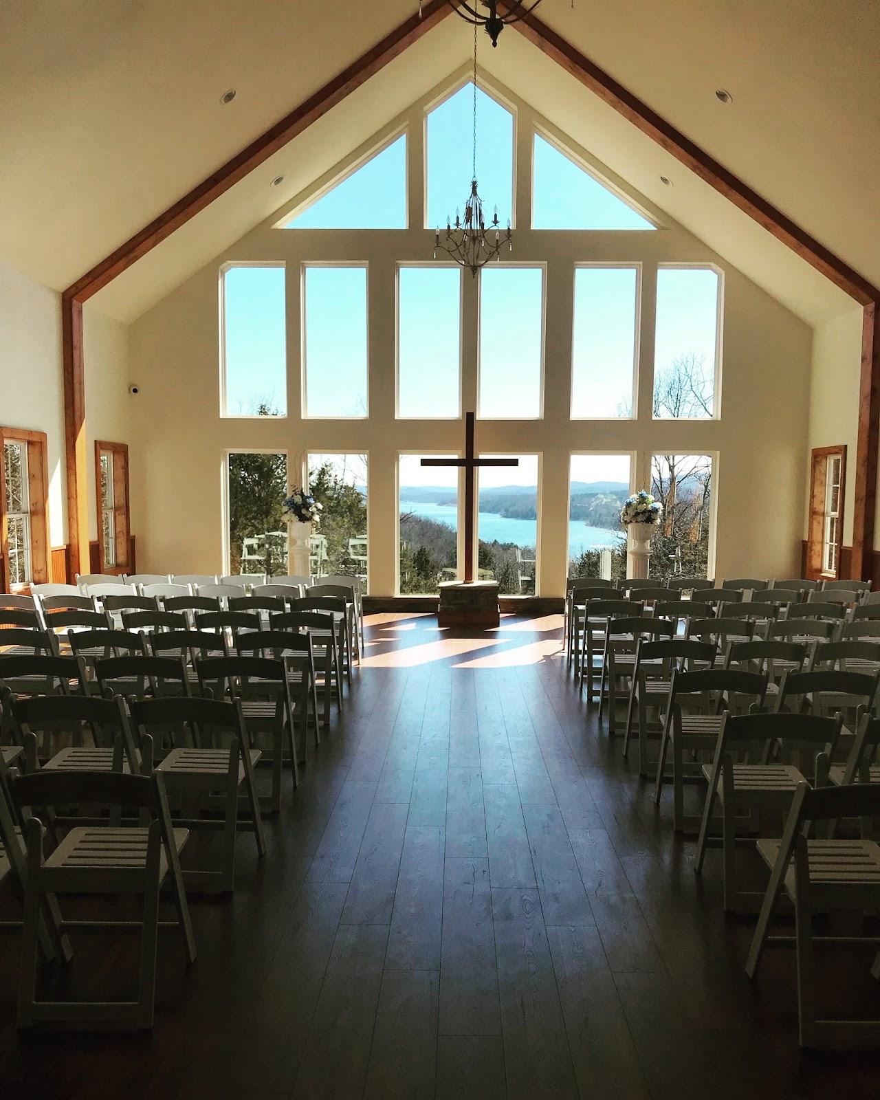Wedding Chapel: Dooley Wedding Chapel On Table Rock Lake: Spring And St