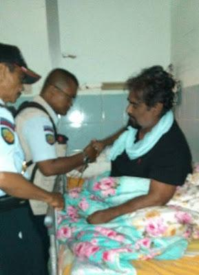 Zulfikar Ali (Pakistan) has been moved from Cilacap's Hospital to Batu Prison on Nusa Kambangan Island.