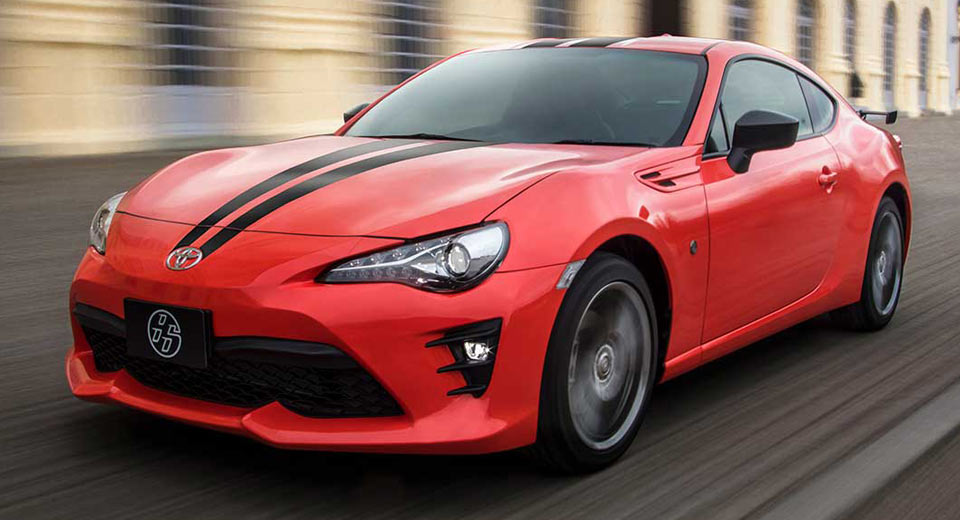 Toyota 86 860 Special Edition Stands Out From The Crowd