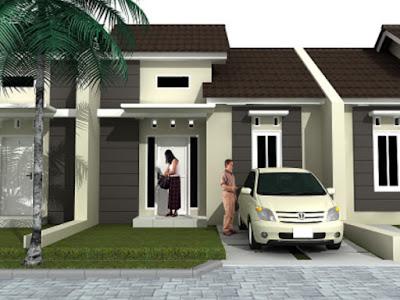 Konsep Rumah minimalis  pada rumah dengan type 36 dan 45
