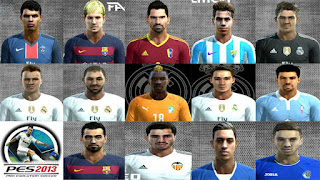 Facepack V1 Pes 2013 By Facemaker Cesareo