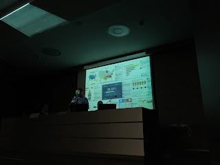 Rafa Höhr durante su conferencia