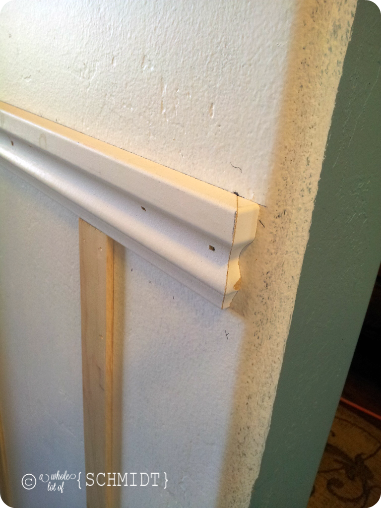 After lots of caulking and hole filling (which I thought ...