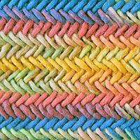 Twisted Knitting Stitch. Herringbone Knitting Stitch. It is a fun stitch creating a beautifully braided fabric,