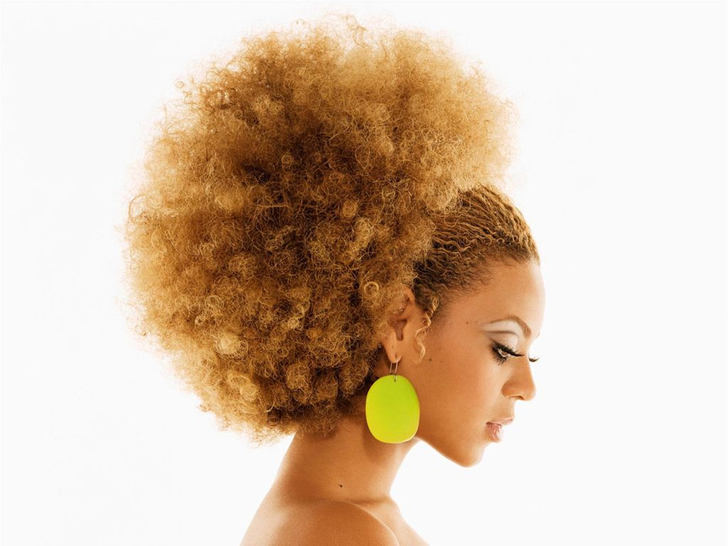 Styles For Afro Hair: Hollywood: Beyonce Knowles New Hairstyles