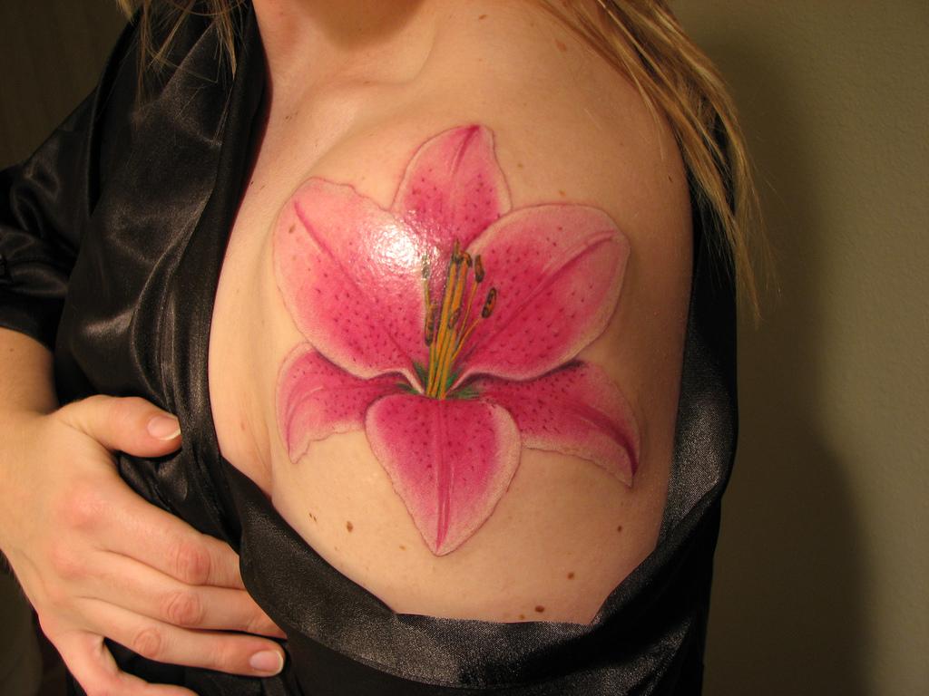 Mytattooland lily tattoos izmirmasajfo Choice Image