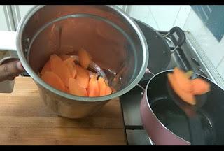 carrot and rice balls payasam kheer carrot recipe kerala onam payasam