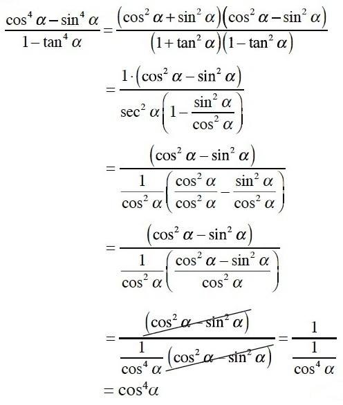 Rumus Contoh Soal Identitas Trigonomentri Pembahasan Pembuktian Persamaan Matematika