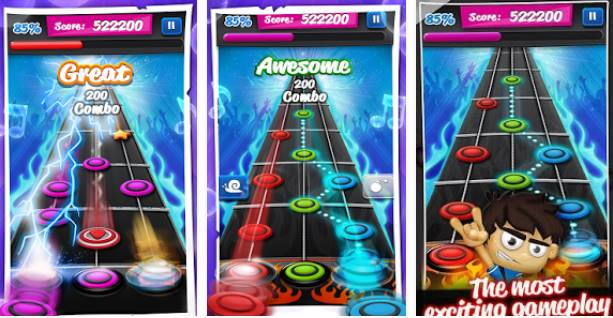 Download Game Guitar Hero Android .APK Terbaru Gratis